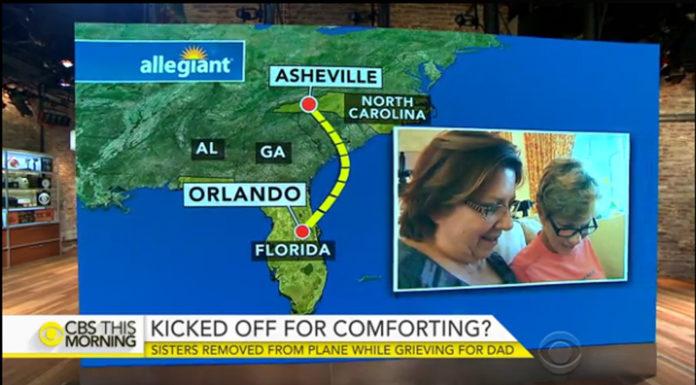 Hai chị em bị đuổi khỏi máy bay, không nhìn được cha trăng trối