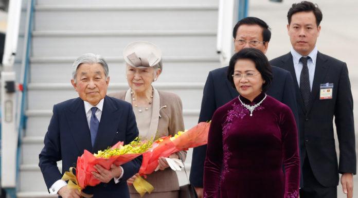 Hình ảnh Nhật Hoàng thăm chính thức Việt Nam