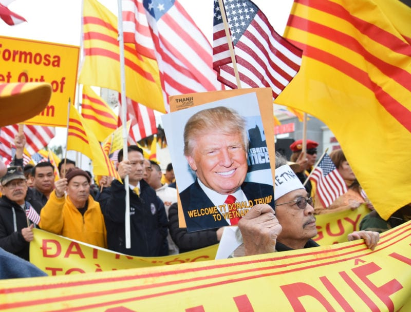 TT Trump đến Hà Nội, hải ngoại xuống đường đòi dân chủ, nhân quyền cho Việt  Nam