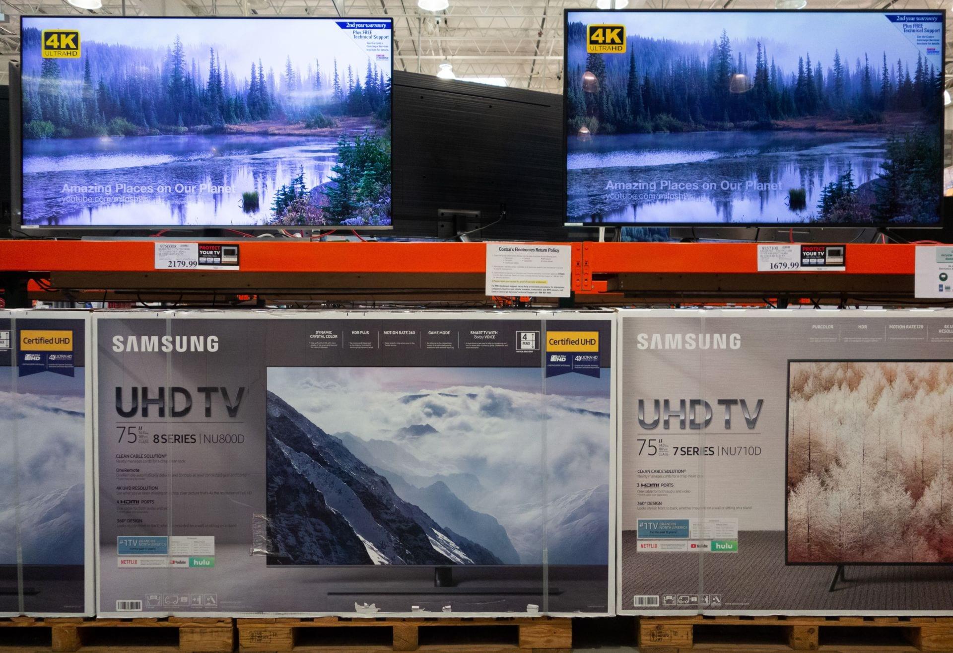 Walmart giảm giá hơn $200 cho TV 4K Samsung 65 inch dịp Lễ