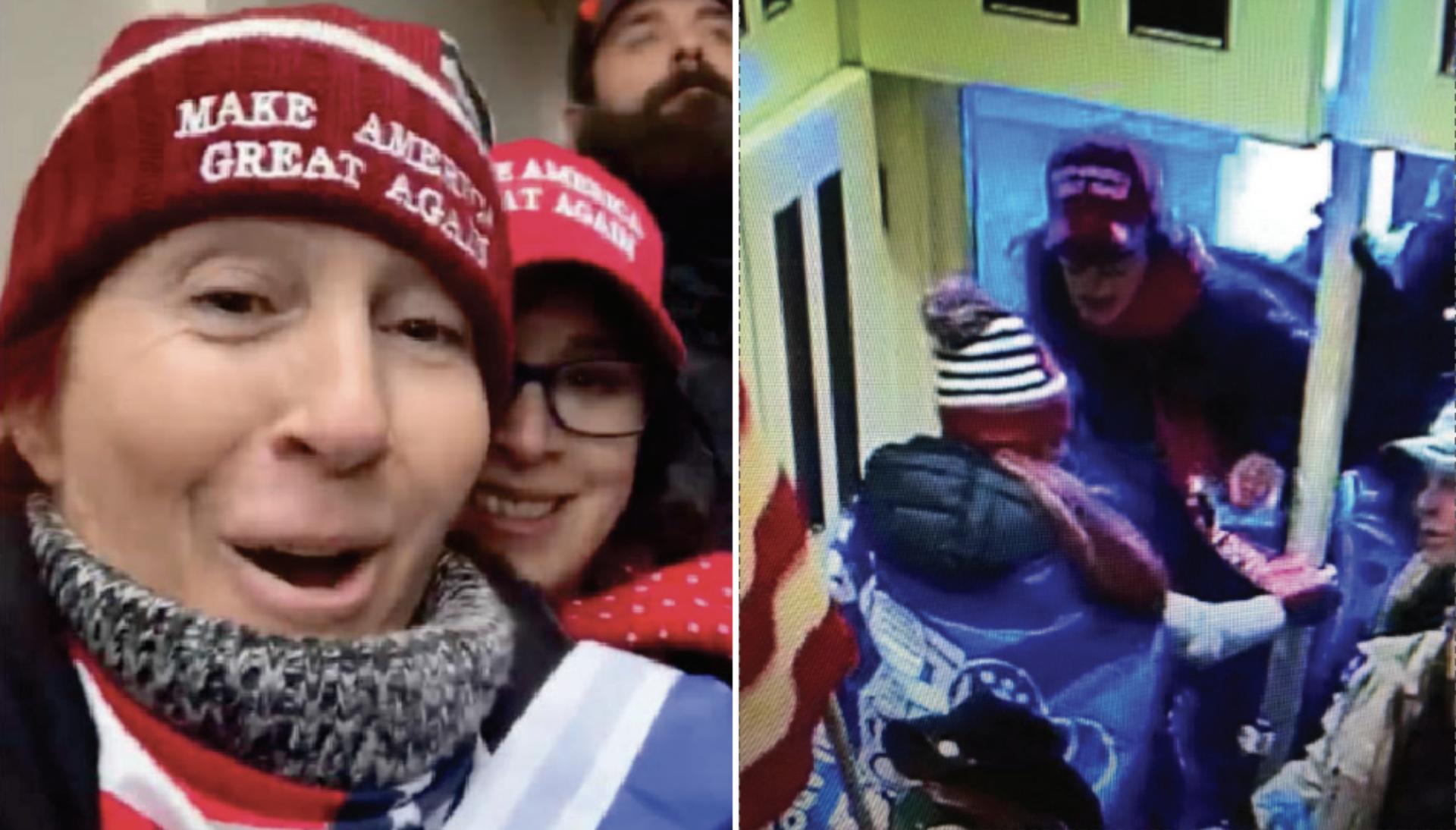 Hai phụ nữ đòi bắn bà Pelosi 'lòi óc' trong ngày bạo loạn đã bị bắt TS-hai-phu-nu-bi-bat