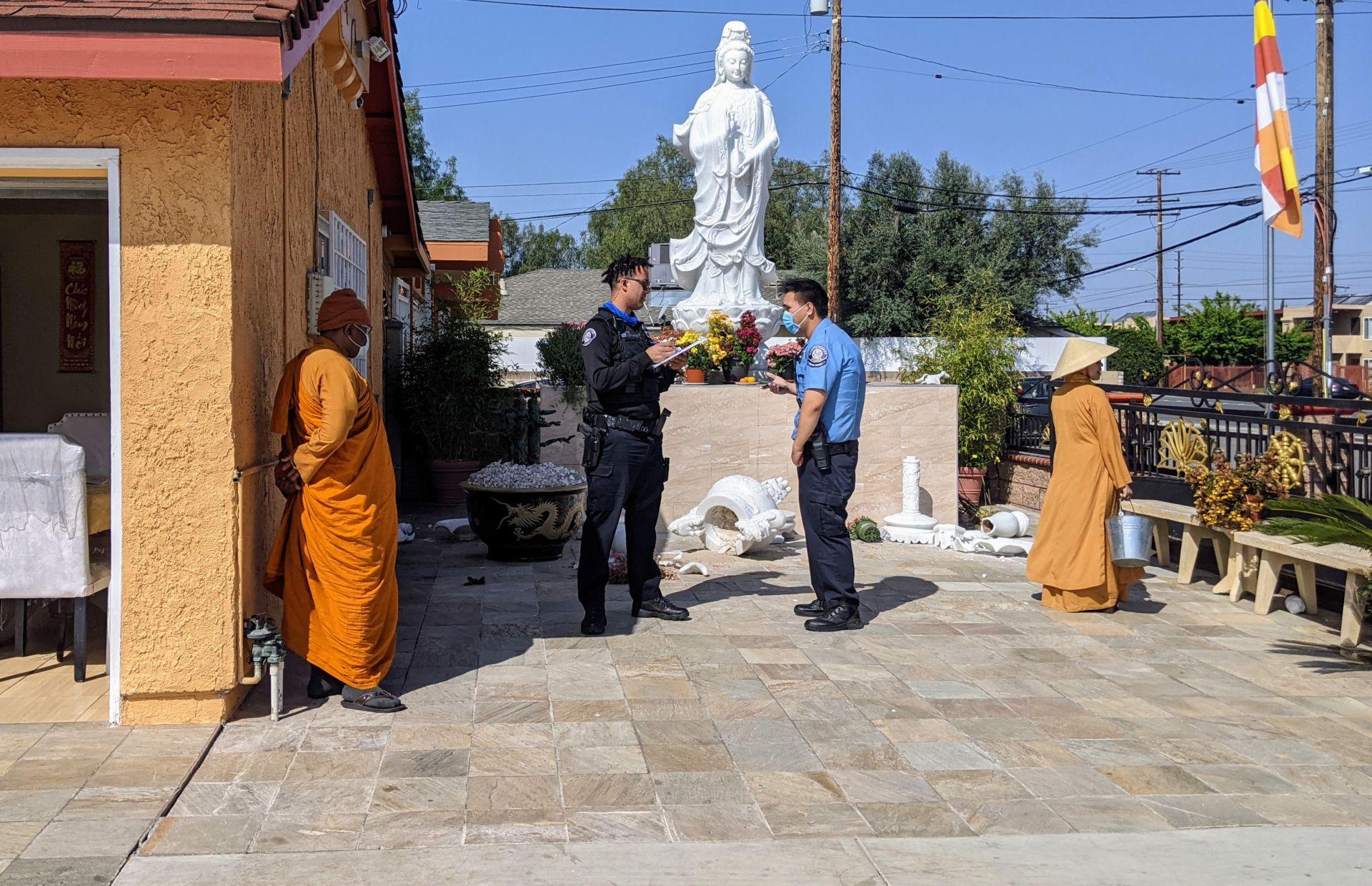 Nhiều chùa ở Little Saigon và Nam California bị trộm và đập phá DP-chua-Nam-CA-Little-Saigon-bi-trom-3