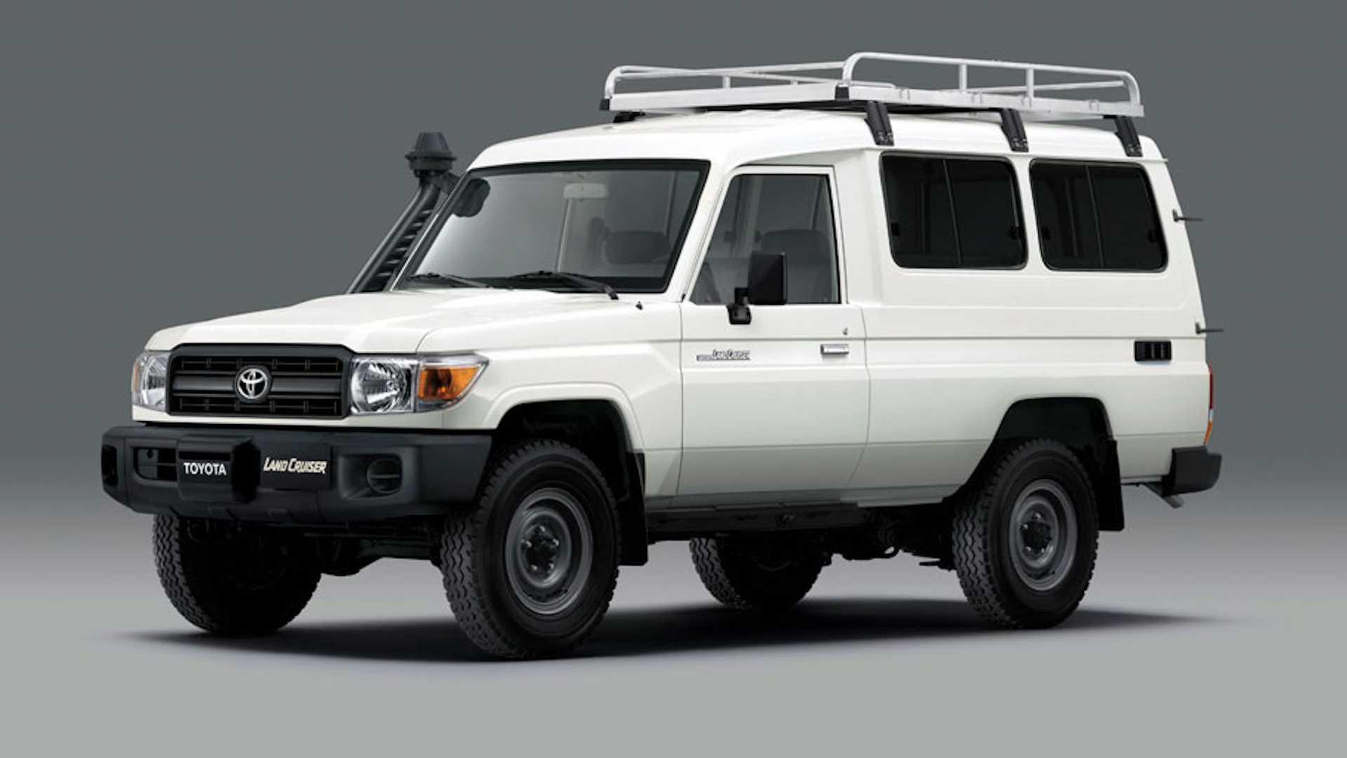 Toyota sản xuất Land Cruiser có tủ lạnh trữ vaccine