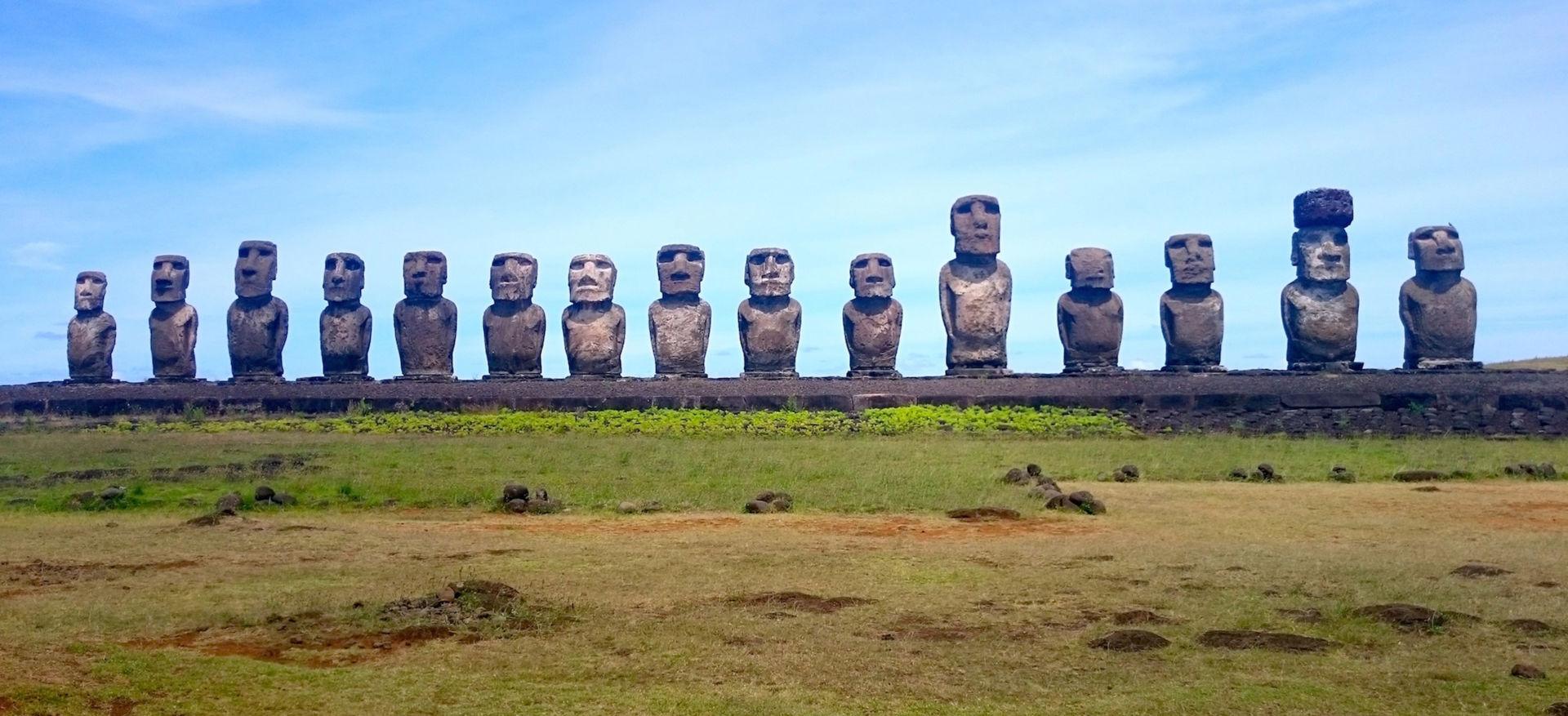 Thăng trầm tượng Moai và đảo Phục Sinh