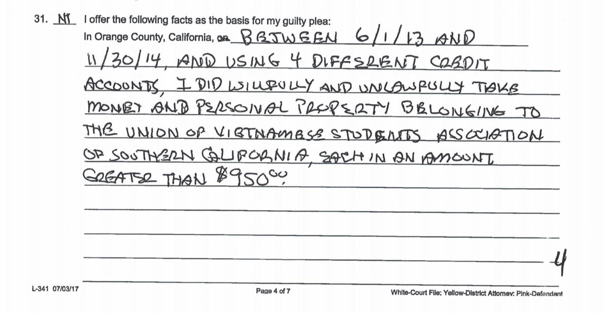 Cựu chủ tịch THSV bị kêu án 6 năm tù vì biển thủ tiền nơi làm việc DP-Nina-Tran-6-nam-tu