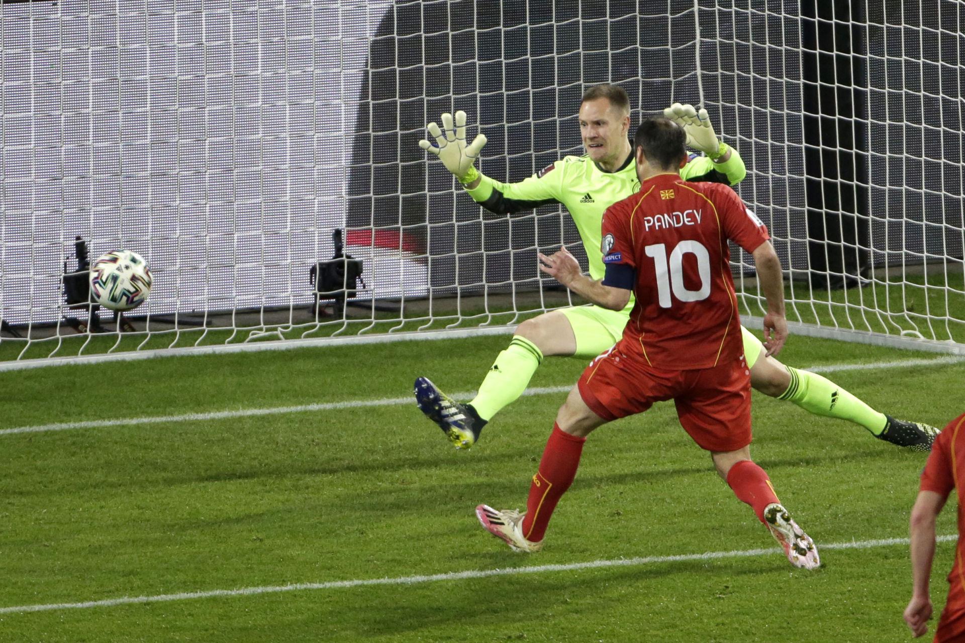 Đức thua bẽ bàng Bắc Macedonia 2-1 ngay tại sân nhà