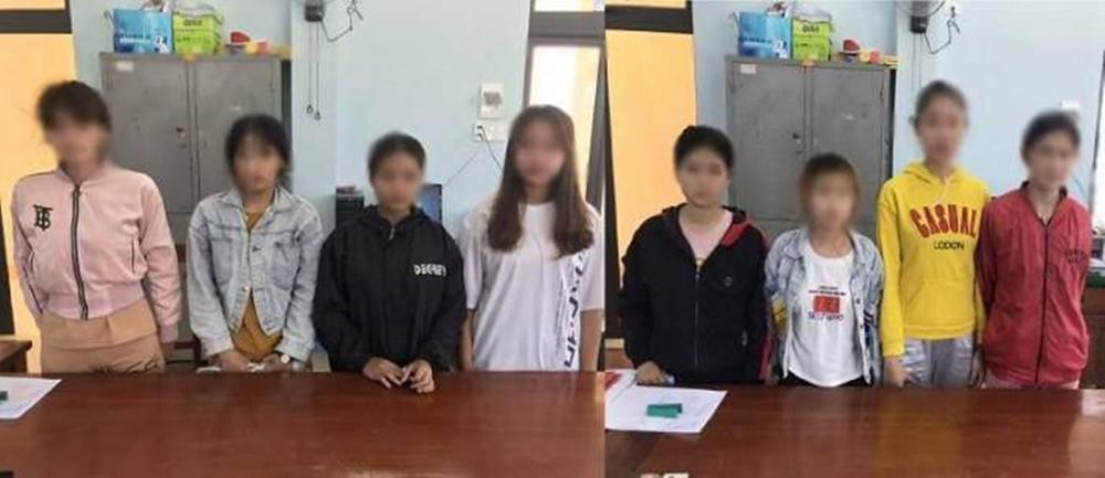 8 thiếu nữ bị ép tiếp khách, bán dâm ở Quảng Ngãi