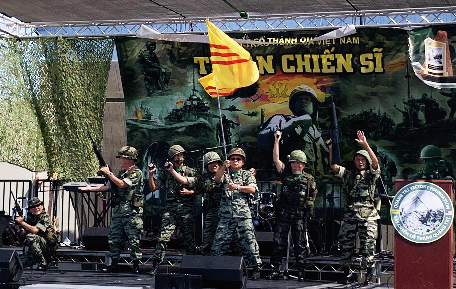 Little Saigon: Chính thức ra mắt Tượng Đài Tái Chiếm Cổ Thành Quảng Trị