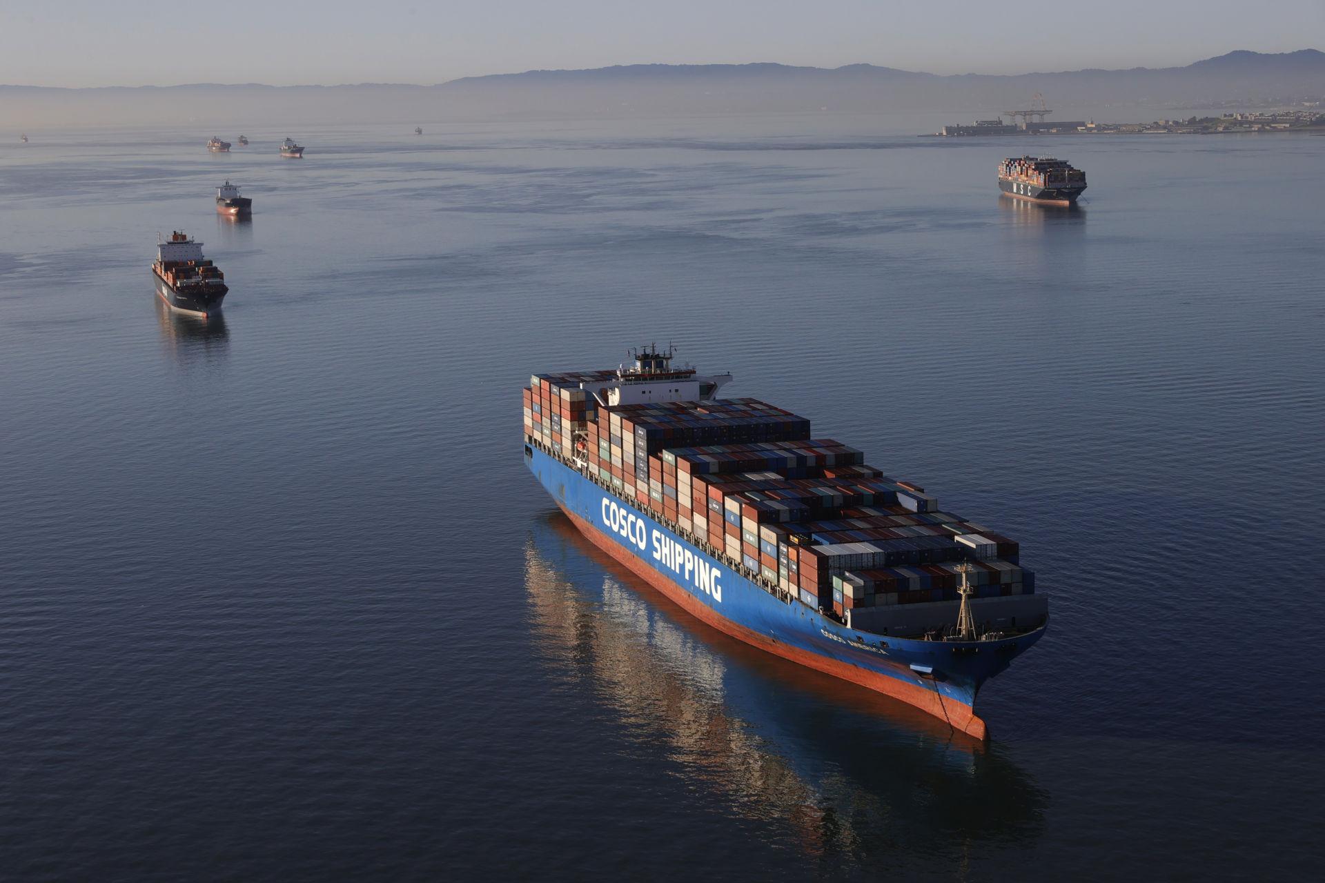 Tình trạng kẹt bến cảng trầm trọng ở California sẽ có ảnh hưởng đến khắp nước Mỹ