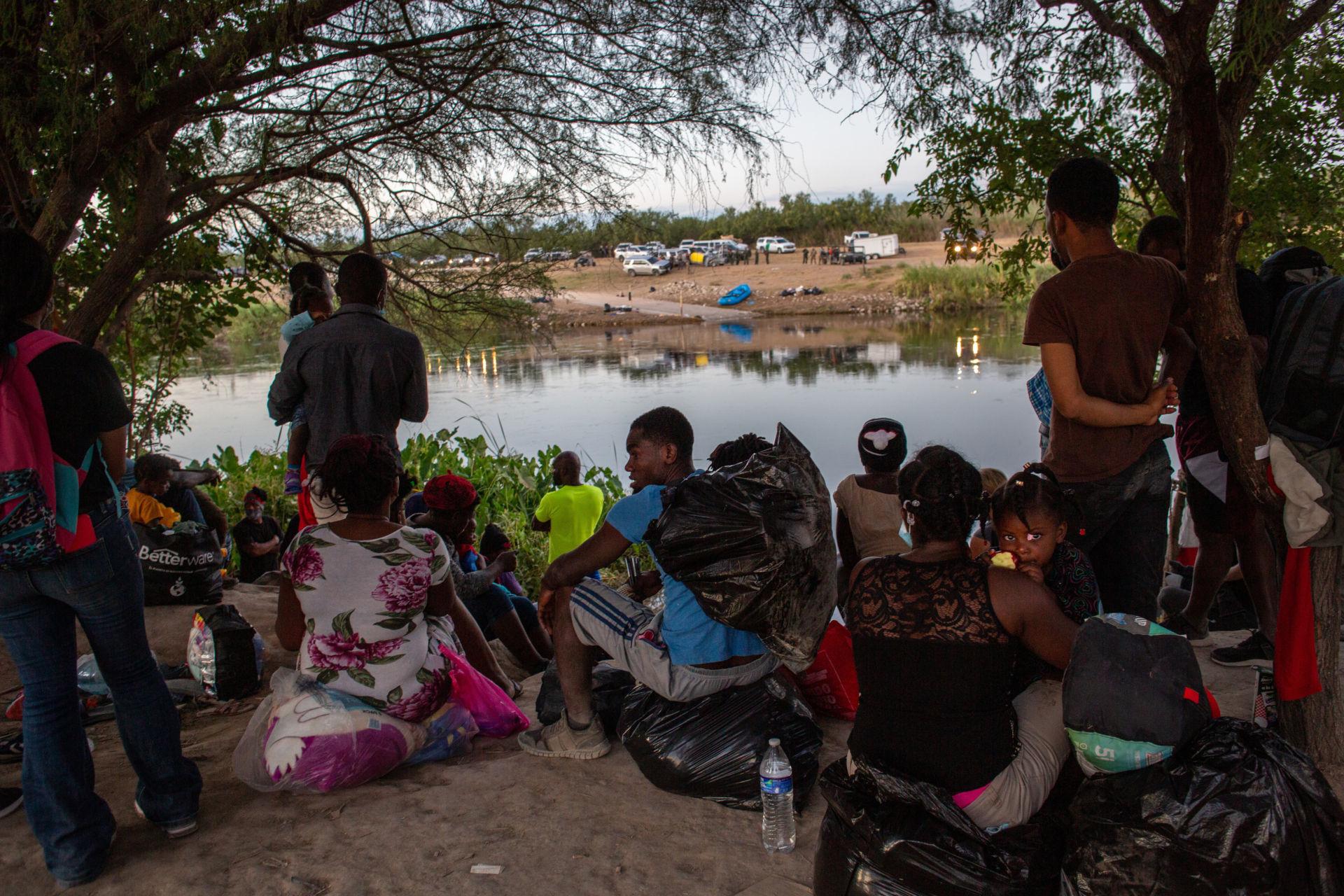 Giới chức Texas: Hiện chỉ còn 225 di dân Haiti tại thị trấn biên giới Del Rio