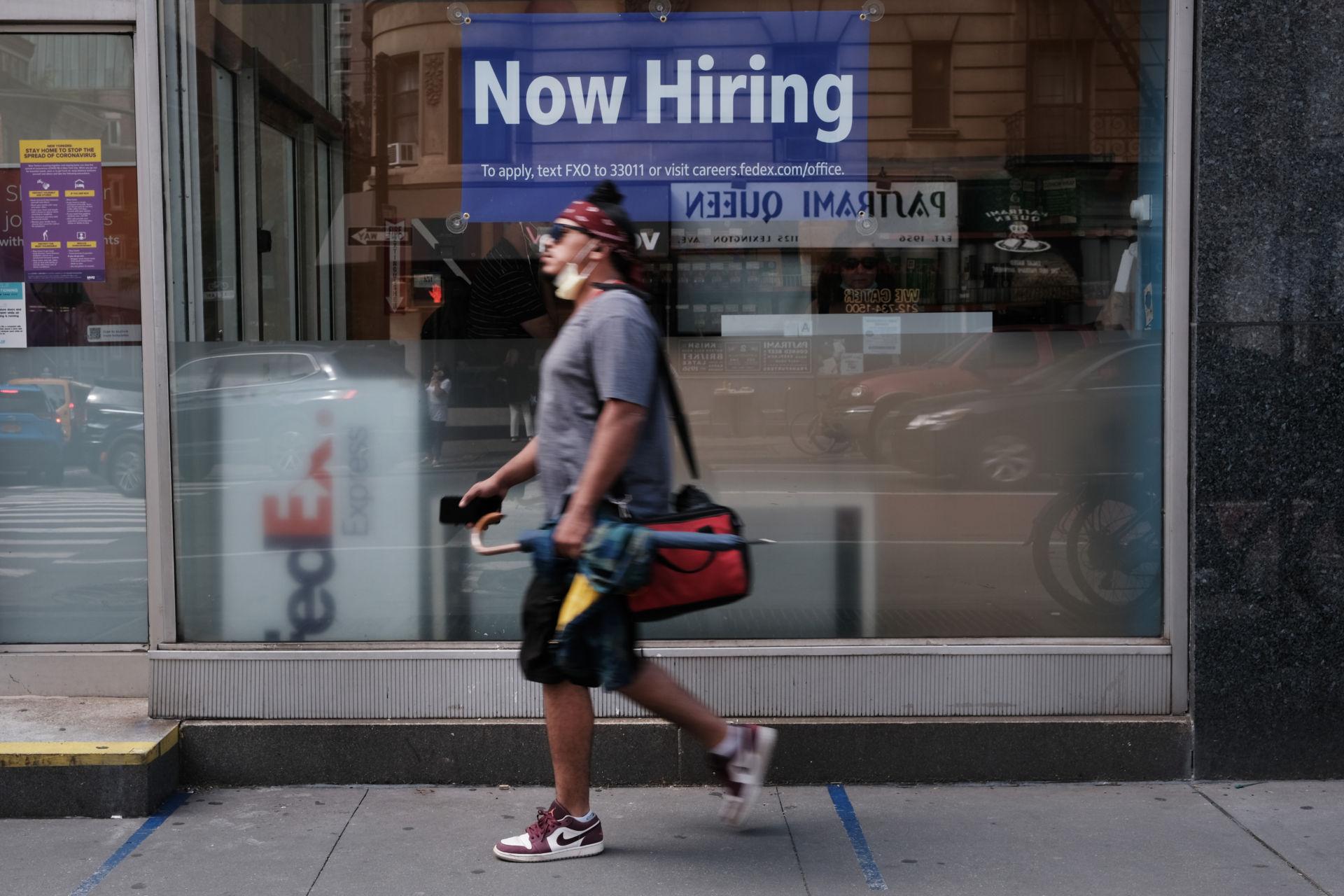 Đơn xin trợ cấp thất nghiệp tại Mỹ tiếp tục giảm tuần qua