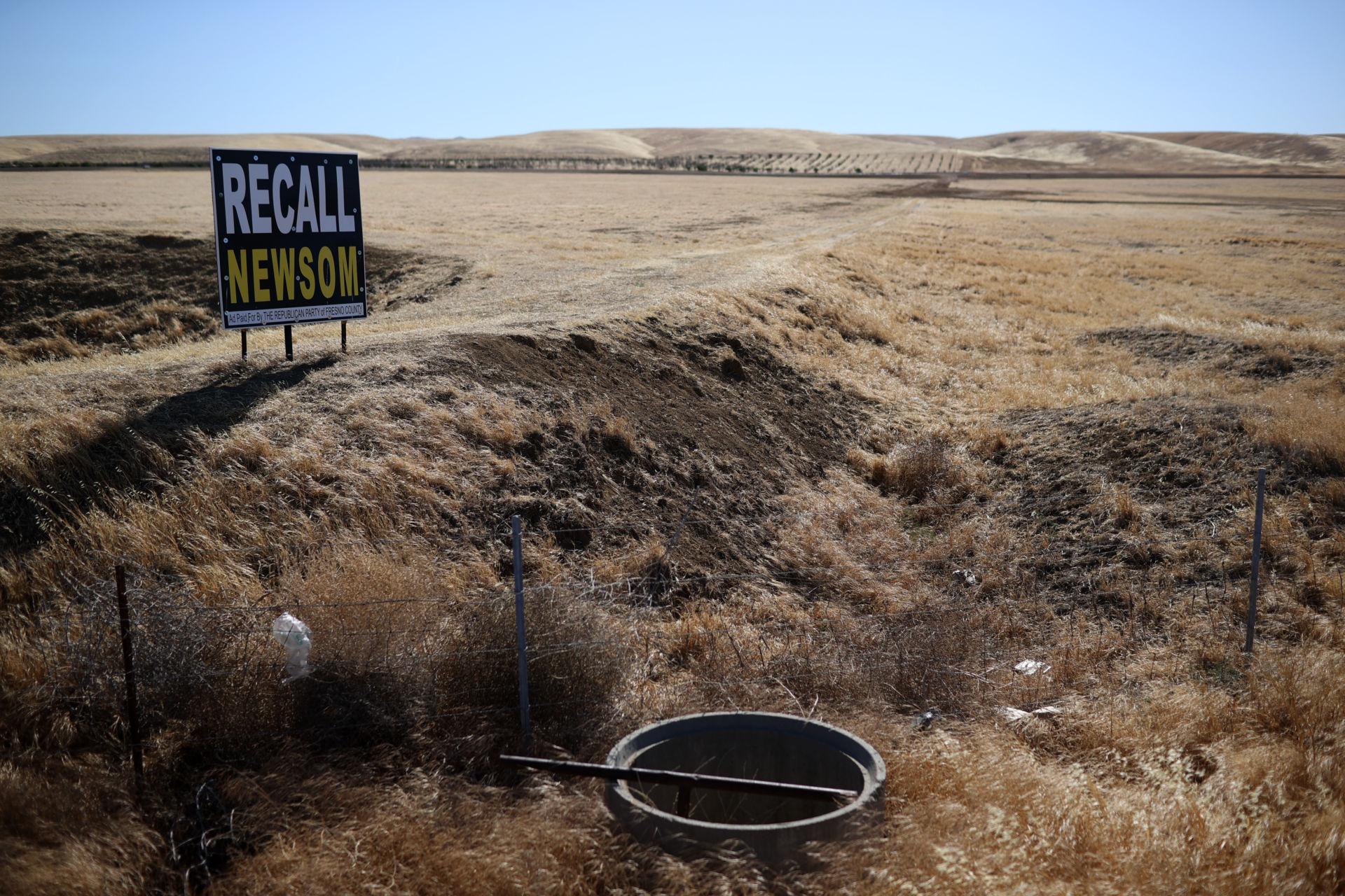 Các quận hạt bảo thủ Nam California 'không mặn mà' bãi nhiệm Newsom