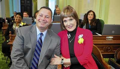 Diana Carey was named the 2014 Woman of the Year for state Assembly District 74