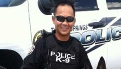 Tarpon Springs Officer Tommy Nguyen