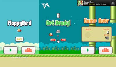 flappy bird mobile game